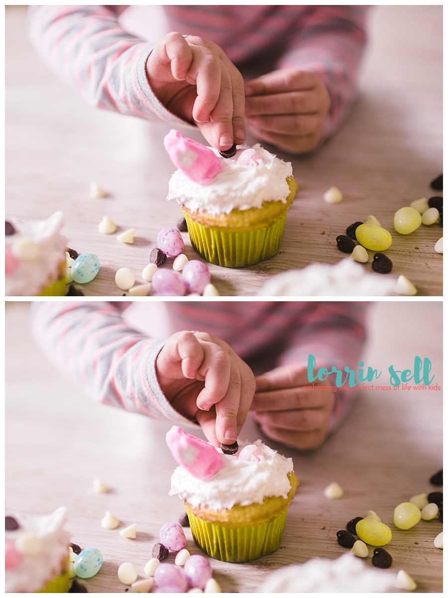 these easy bunny cupcakes, aren't just easy, they're so cute too!