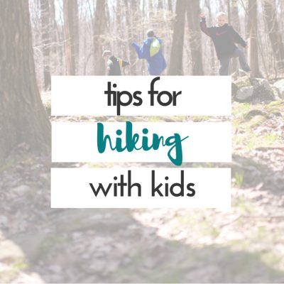 Hiking with the kids has become one of our favorite things to do.  It's cheap, and fun!  We love being outdoors, and we love being able to explore with the kids.  These tips for hiking with kids will help to make your hike more enjoyable.