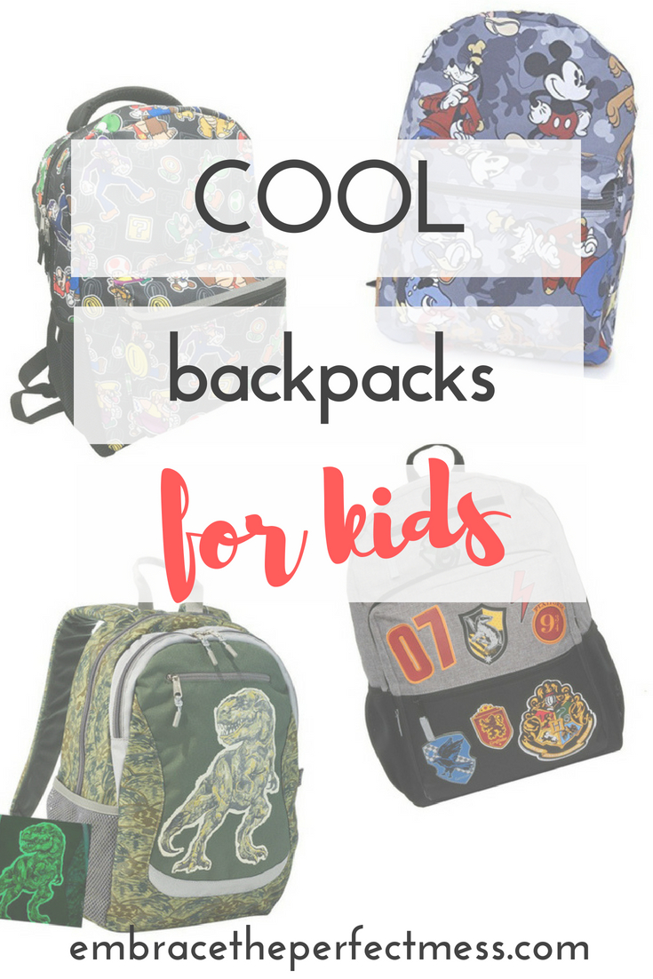 Cool Backpacks For Kids Embrace The Perfect Mess