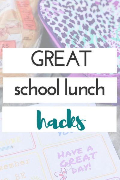 7 Great School Lunch Hacks